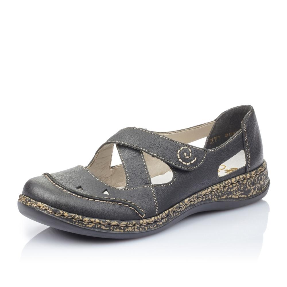 ae01c06e89 detail Dámská obuv RIEKER 46335-00 SCHWARZ F S 9
