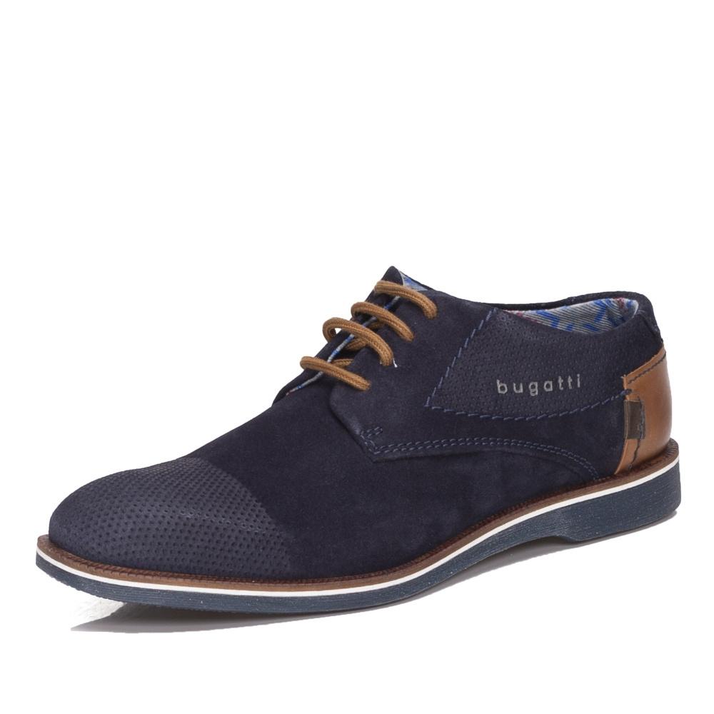 Pánská obuv BUGATTI 312-64702-1400-4100 DARK BLUE BUGATTI F S 9 ... ce60da41733