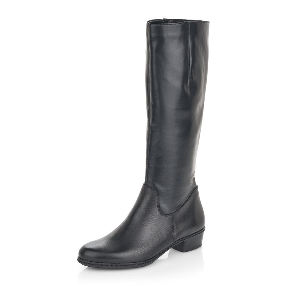 8f0456fddf detail Dámská obuv RIEKER Y0796 00 SCHWARZ H W 8