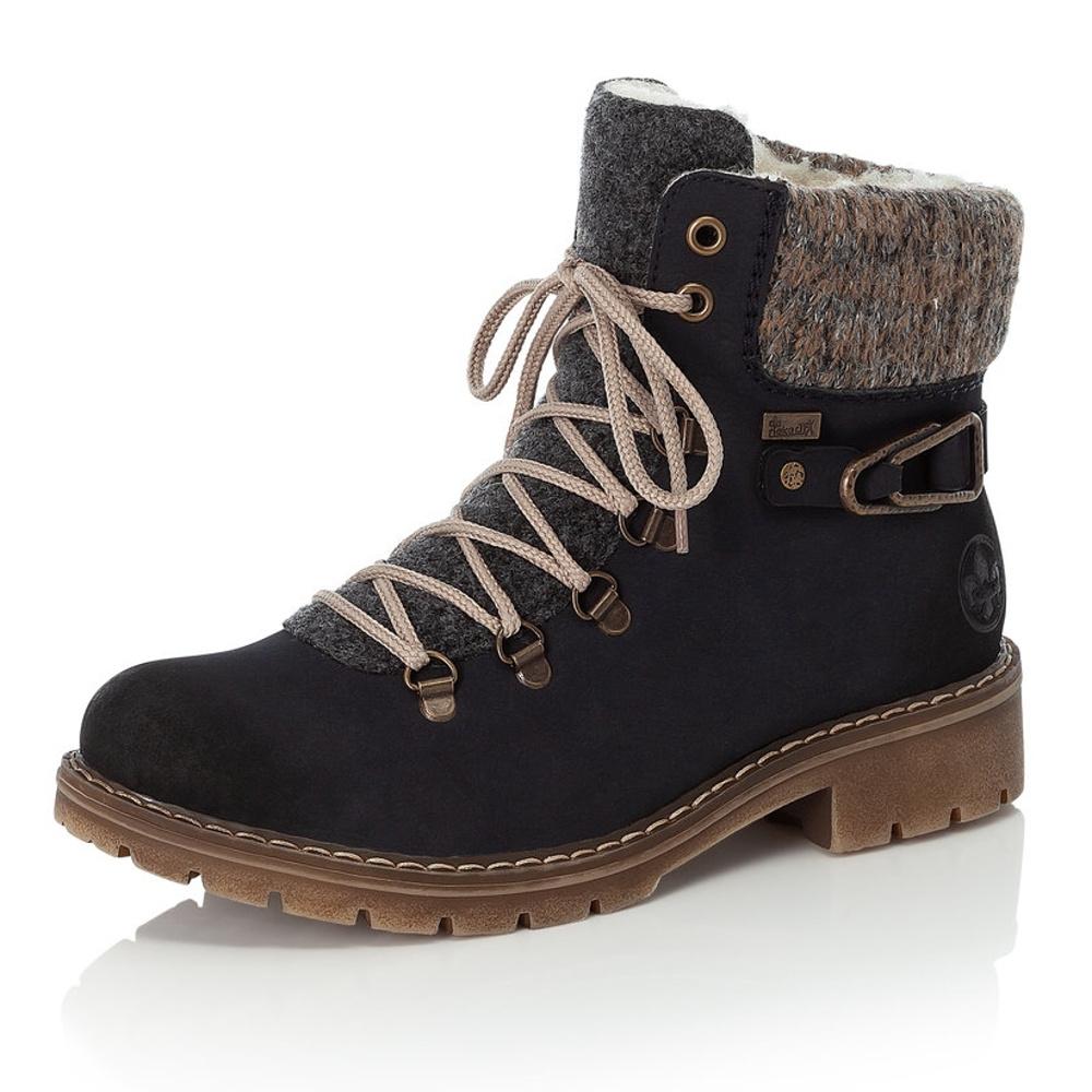 1bbb953a22 detail Dámská obuv RIEKER Y9131 14 BLAU KOMBI H W 8