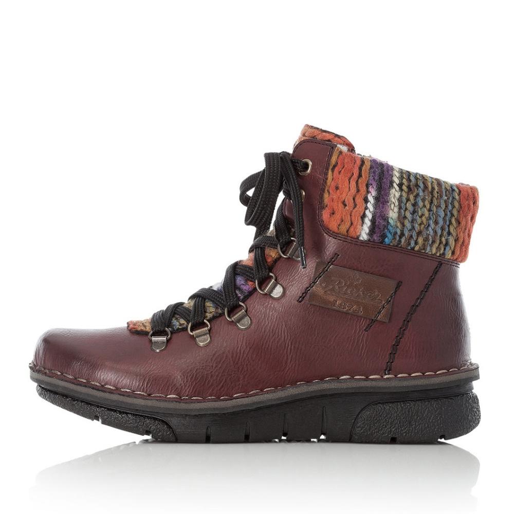 71434d74a968 detail Dámská obuv RIEKER 73343 35 ROT KOMBI H W 8